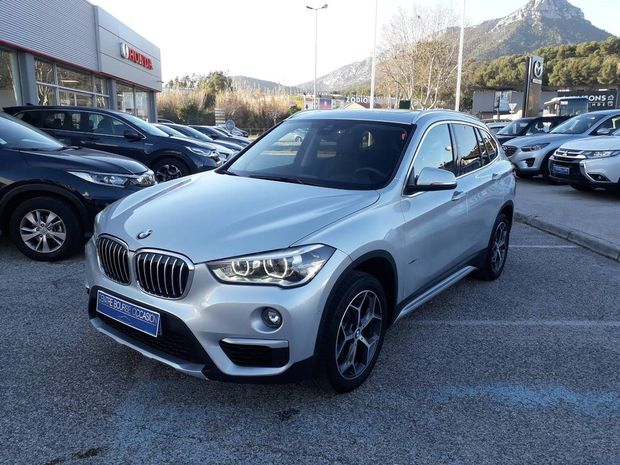 Photo miniature de la BMW X1 xDrive 18d 150 ch BVA8 xLine 2017 d'occasion