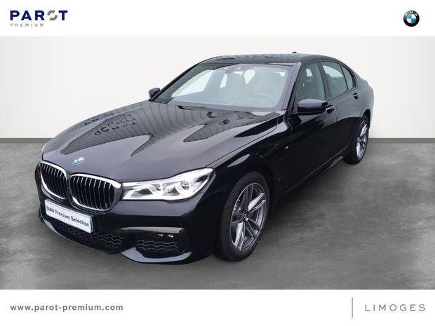 Photo miniature de la BMW Serie 7 730dA 265ch M Sport Euro6c 2018 d'occasion
