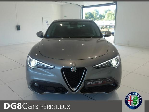 Photo miniature de la Alfa Romeo Stelvio 2.2 Diesel 210ch Lusso Q4 AT8 MY19 2019 d'occasion