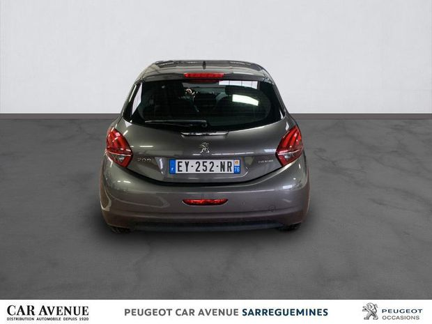 Photo miniature de la Peugeot 208 1.2 PureTech 82ch Allure 5p 2018 d'occasion