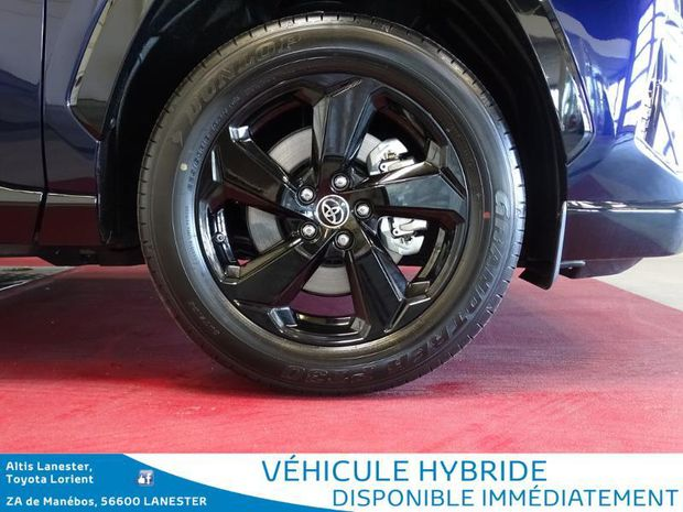 Photo miniature de la Toyota RAV4 Hybride 218ch Collection 2WD 2019 d'occasion