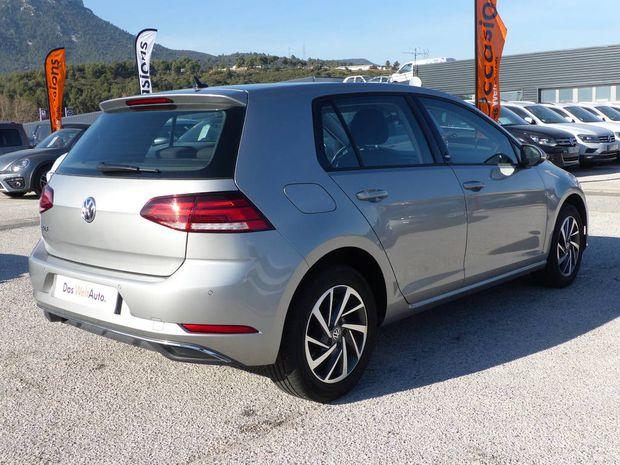 Photo miniature de la Volkswagen Golf 1.0 TSI 110 BlueMotion Technology Sound 2018 d'occasion