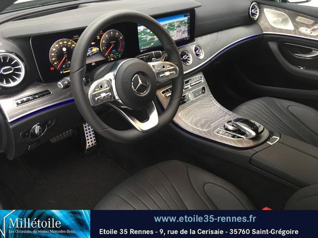 Photo miniature de la Mercedes Classe CLS 450 367ch EQ Boost AMG Line+ 4Matic 9G-Tronic Euro6d-T 2019 d'occasion