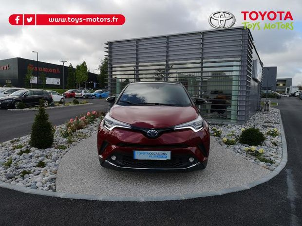 Photo miniature de la Toyota C-HR 122h Collection 2WD E-CVT 2018 d'occasion
