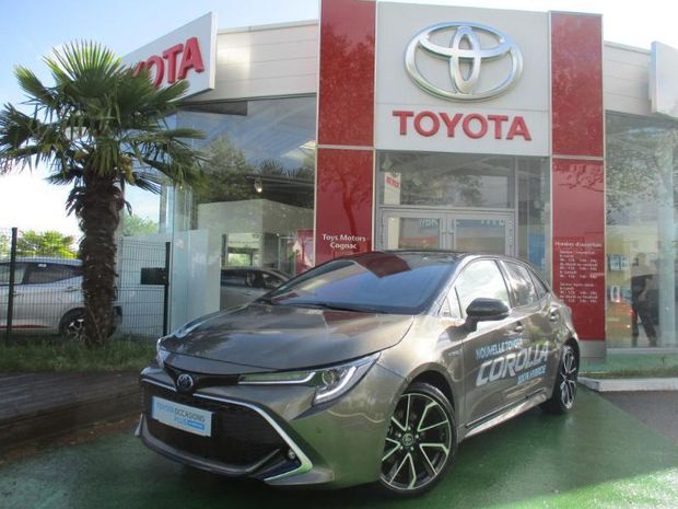 Photo miniature de la Toyota Corolla 180h Collection 2019 d'occasion