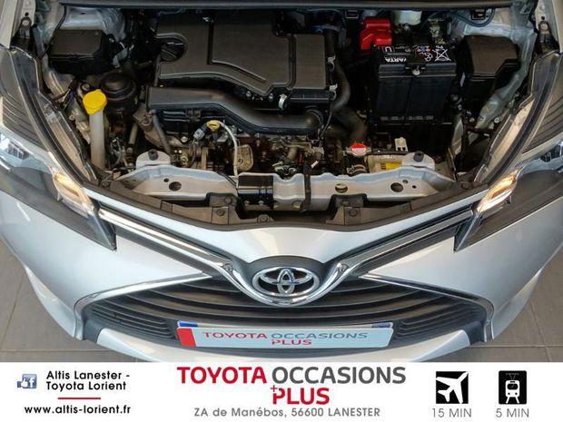 Photo miniature de la Toyota Yaris 69 VVT-i France 5p 2016 d'occasion