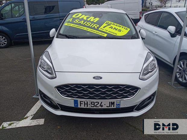 Photo miniature de la Ford Fiesta 1.0 EcoBoost 100ch Stop&Start Vignale 5p Euro6.2 2019 d'occasion