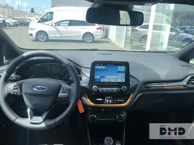 Photo miniature de la Ford Fiesta Active 1.0 EcoBoost 100ch S&S Pack Euro6.2 2019 d'occasion