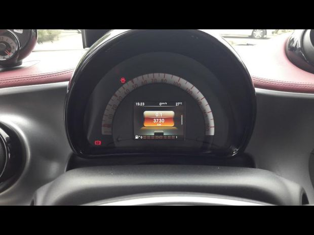Photo miniature de la Smart fortwo Coupe 90ch prime twinamic 2016 d'occasion