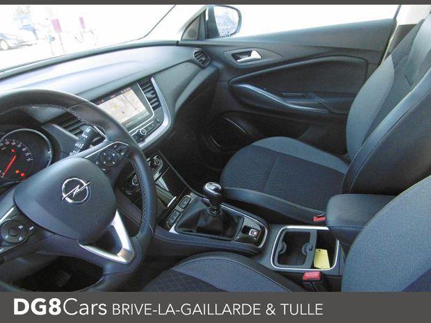 Photo miniature de la Opel Grandland X 1.6 D 120ch ECOTEC Innovation 2017 d'occasion