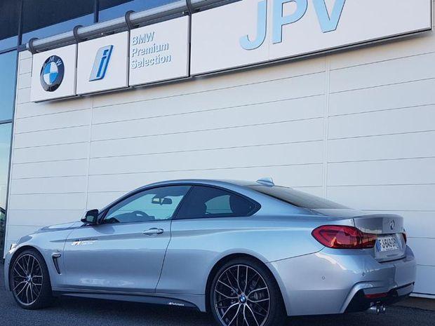 Photo miniature de la BMW Serie 4 Coupe 420dA 190ch M Sport Euro6d-T 2019 d'occasion