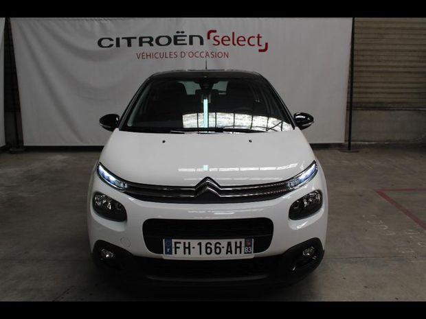 Photo miniature de la Citroën C3 BlueHDi 100ch Graphic S&S E6.d-TEMP BVM5 2019 d'occasion