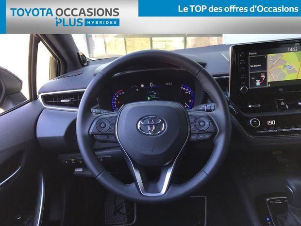 Photo miniature de la Toyota Corolla 180h Collection - Pack Techno 2019 d'occasion