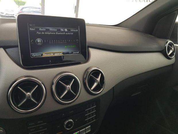 Photo miniature de la Mercedes Classe B 180 122ch Sensation 7G-DCT 2018 d'occasion