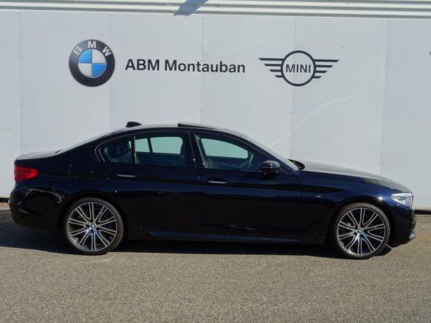 Photo miniature de la BMW Serie 5 520iA 184ch M Sport Steptronic Euro6d-T 129g 2019 d'occasion