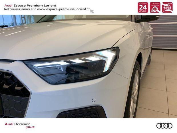 Photo miniature de la Audi A1 Sportback 30 TFSI 116ch Design Luxe S tronic 7 2019 d'occasion
