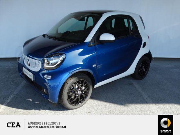 Photo miniature de la Smart fortwo Coupe Electrique 82ch passion 2019 d'occasion