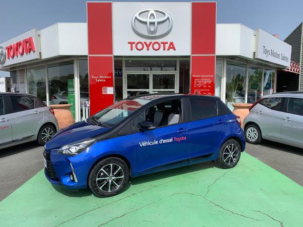 Photo miniature de la Toyota Yaris 70 VVT-i Design 5p RC18 2018 d'occasion
