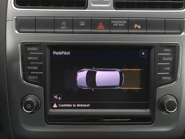 Photo miniature de la Volkswagen Polo 1.4 TDI 90 BMT Série Spéciale Allstar 2017 d'occasion