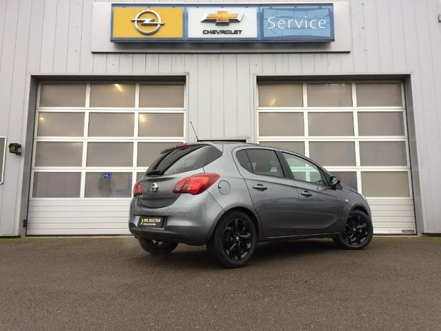 Photo miniature de la Opel Corsa 1.4 90ch Black Edition Start/Stop 5p 2019 d'occasion