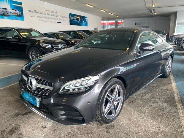 Photo miniature de la Mercedes Classe C Coupe 200 184ch AMG Line 9G-Tronic Euro6d-T 2018 d'occasion