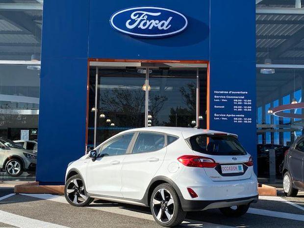 Photo miniature de la Ford Fiesta Active 1.0 EcoBoost 100ch S&S 2018 d'occasion