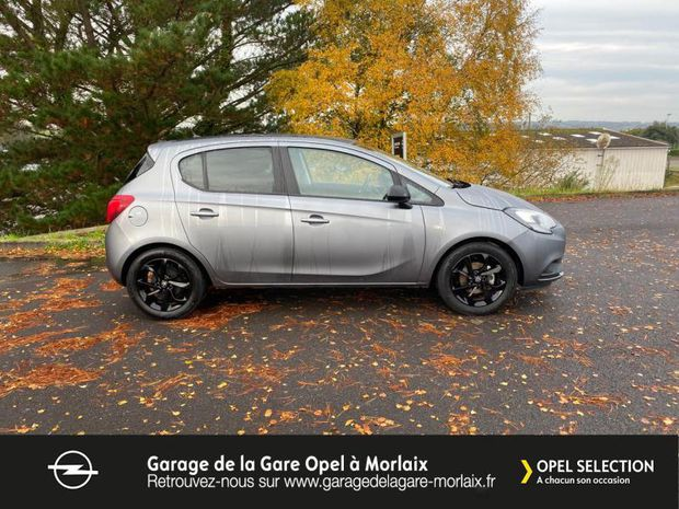 Photo miniature de la Opel Corsa 1.4 90ch Black Edition 5p 2019 d'occasion
