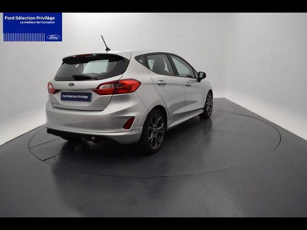Photo miniature de la Ford Fiesta 1.0 EcoBoost 100ch Stop&Start ST Line 5p 2018 d'occasion