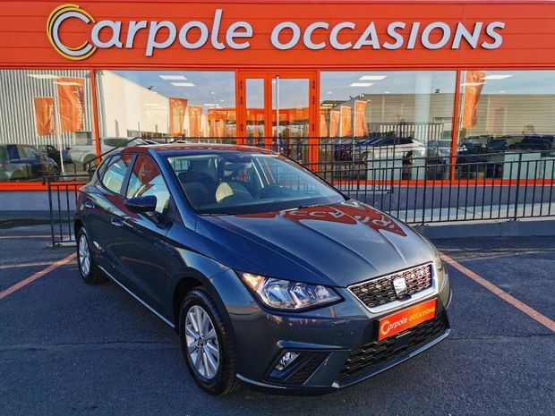 Photo miniature de la Seat Ibiza 1.0 MPI 80ch Start/Stop Style Euro6d-T 2019 d'occasion