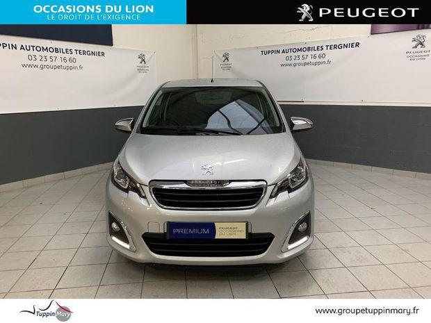 Photo miniature de la Peugeot 108 VTi 72 Style S&S 3p 2019 d'occasion