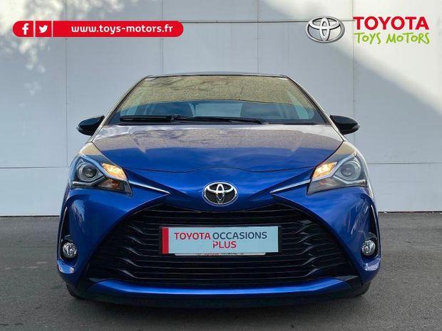 Photo miniature de la Toyota Yaris 110 VVT-i Design 5p RC18 2018 d'occasion