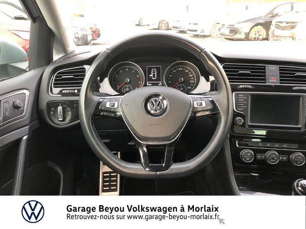 Photo miniature de la Volkswagen Golf 1.4 TSI 125ch BlueMotion Technology Match 5p 2017 d'occasion