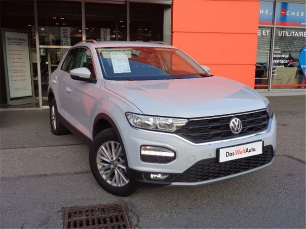 Photo miniature de la Volkswagen T-Roc 1.0 TSI 115 START/STOP BVM6 2019 d'occasion
