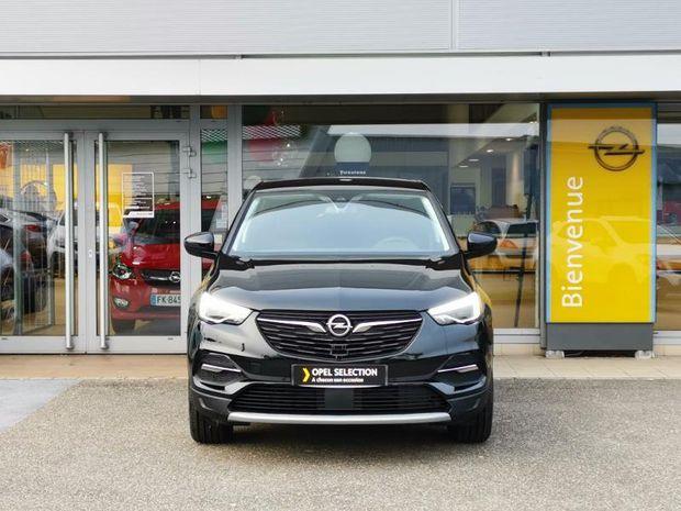 Photo miniature de la Opel Grandland X 1.2 Turbo 130 Elite BVA8 LED CAMERA 2019 d'occasion
