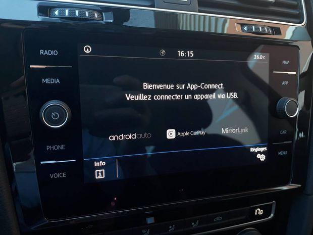 Photo miniature de la Volkswagen Golf SW 1.5 TSI 130 EVO DSG7 Connect 2019 d'occasion