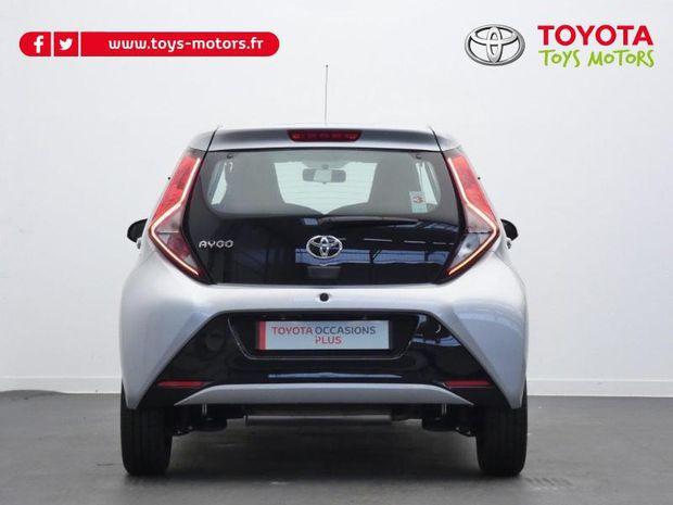 Photo miniature de la Toyota Aygo 1.0 VVT-i 72ch x-play 5p 2019 d'occasion