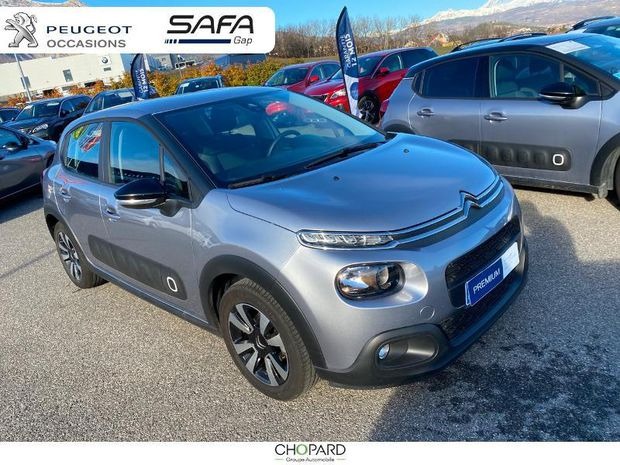 Photo miniature de la Citroën C3 PureTech 82ch Feel S&S E6.d-TEMP 2019 d'occasion