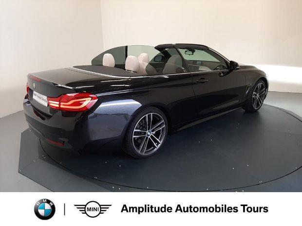 Photo miniature de la BMW Serie 4 Cabriolet 430iA 252ch M Sport Euro6d-T 2018 d'occasion