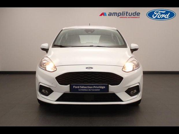Photo miniature de la Ford Fiesta 1.0 EcoBoost 100ch Stop&Start ST-Line 5p Euro6.2 2019 d'occasion