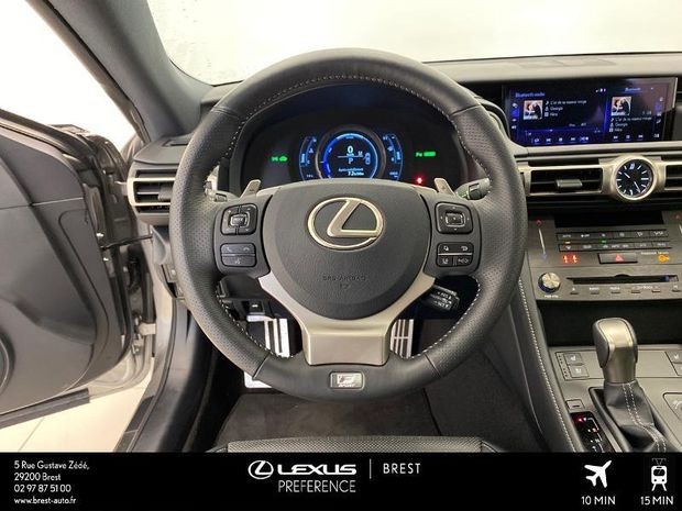 Photo miniature de la Lexus RC F RC 300h F SPORT 2019 d'occasion