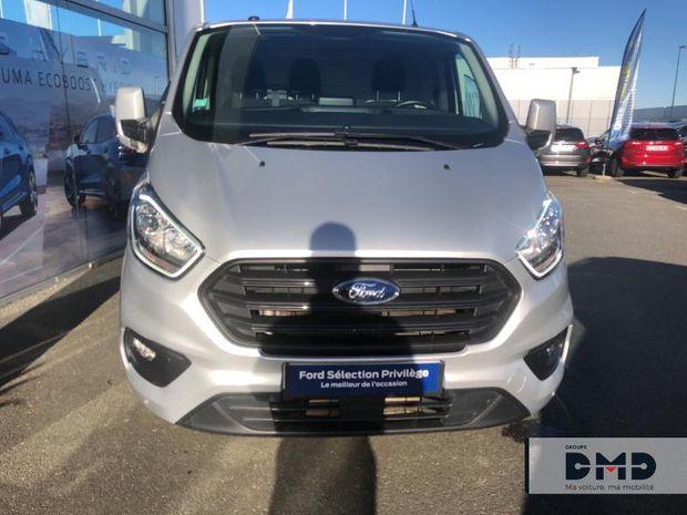 Photo miniature de la Ford Transit Custom Fg 300 L2H1 2.0 TDCi 130 Trend Business 2018 d'occasion