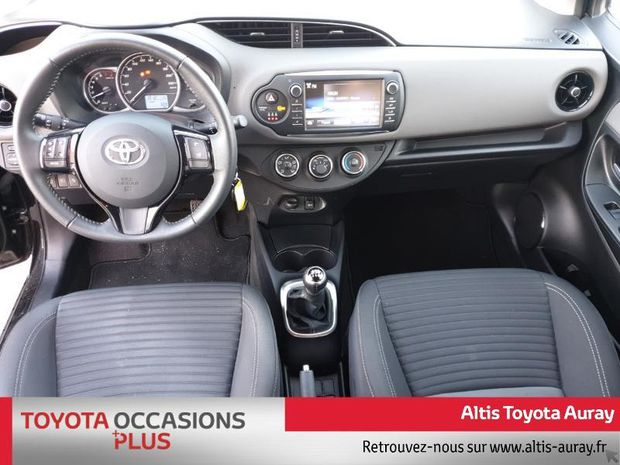 Photo miniature de la Toyota Yaris 69 VVT-i France 3p 2017 d'occasion