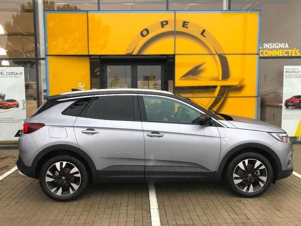 Photo miniature de la Opel Grandland X 1.2 Turbo 130ch Design Line BVA 2019 d'occasion