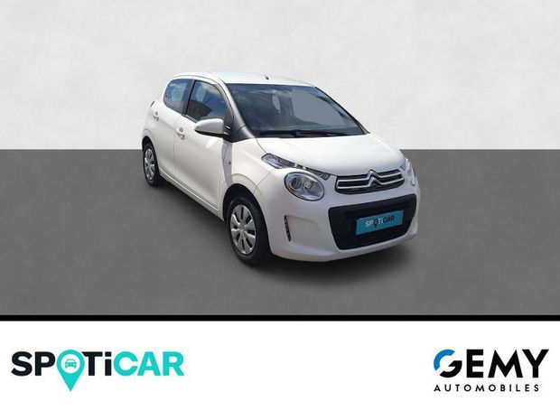 Photo miniature de la Citroën C1 VTi 72 Feel 5p 2019 d'occasion