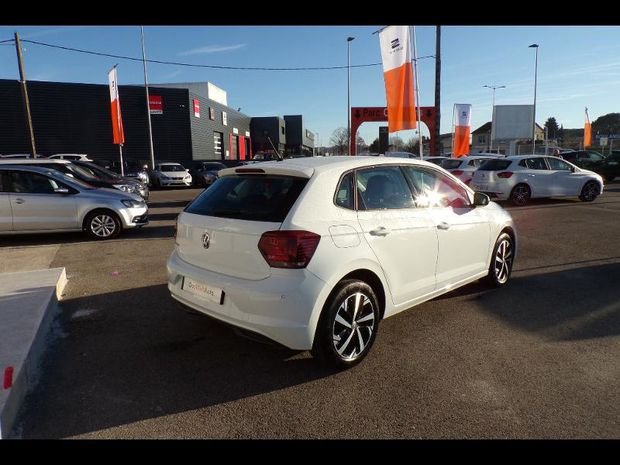 Photo miniature de la Volkswagen Polo 1.0 TSI 95ch Connect 2019 d'occasion
