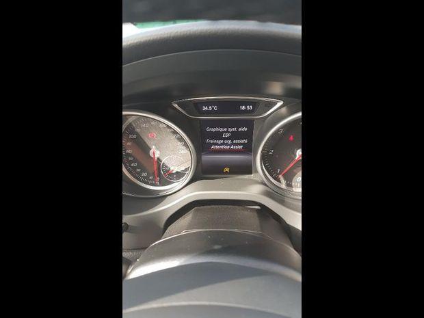 Photo miniature de la Mercedes CLA Shooting Brake 180 d Inspiration 2017 d'occasion