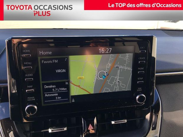 Photo miniature de la Toyota Corolla 180h Design 2019 d'occasion