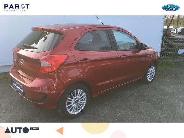 Photo miniature de la Ford Ka + 1.2 Ti-VCT 85ch S&S Ultimate 2018 d'occasion