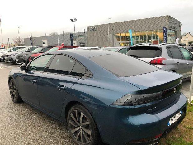 Photo miniature de la Peugeot 508 BlueHDi 160ch S&S GT Line EAT8 2018 d'occasion