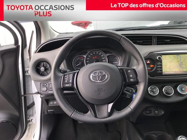 Photo miniature de la Toyota Yaris 70 VVT-i France Business 5p RC18 2019 d'occasion